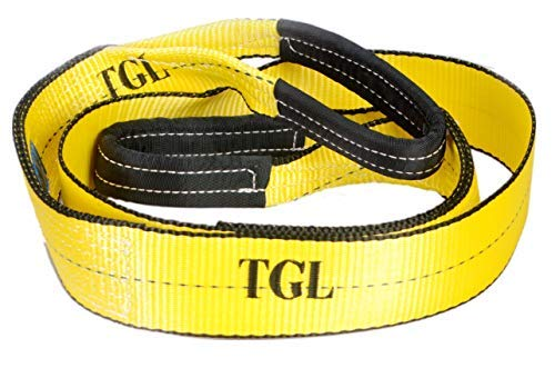 TGL 3 inch, 8 Foot Tree Saver, Winch Strap, Tow Strap 30,000 Pound Capacity