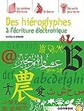 Des hiéroglyphes à l'écriture électronique