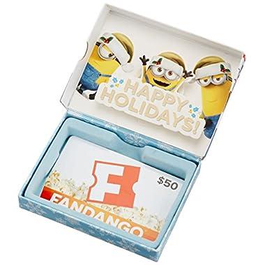 Fandango Minions $50 Gift Card - In a Gift Box