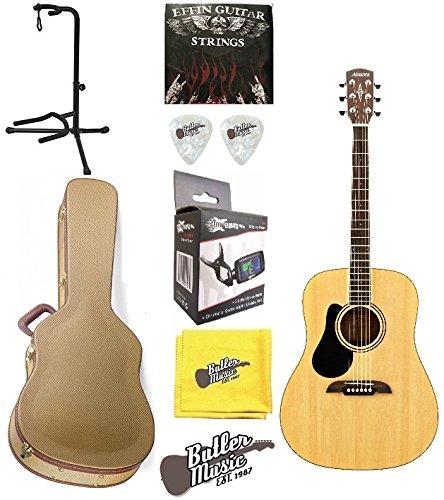Alvarez RD26L - Guitarra acústica para zurdos (con estuche rígido GD y más): Amazon.es: Instrumentos musicales