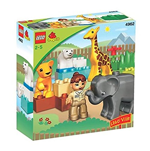 Duplo Lego Zoo Baby 4962
