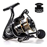 Yumos Spinning Reels Light Weight Ultra Smooth Powerful Spinning Fishing Reels Freshwater Saltwater (RT-1000)