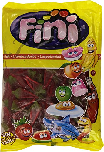 Fini Caramelo de Goma Sabor Fresa Picante - 1000 gr