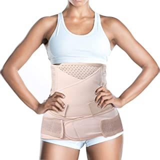 3 in 1 Postpartum Belly Girdle (Upgrade) Support C-Section Recovery Waist Belly Pelvic Shapewear Beige