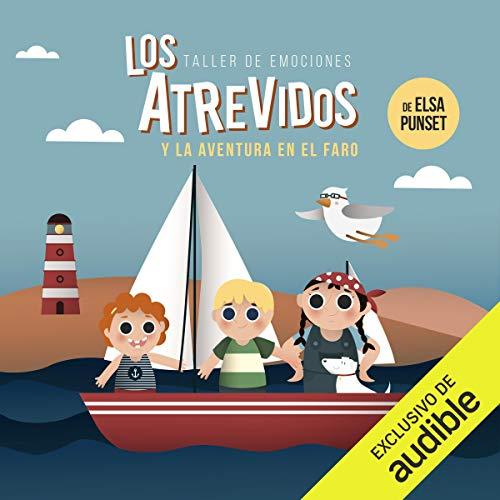 Diseño de la portada del título Los Atrevidos y la aventura en el faro
