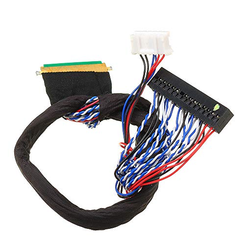RLJJCS1163 40P 2CH 6-bit LVDS Screen Universal LCD Driver Board Cable For LED Notebook Screen Heights Score