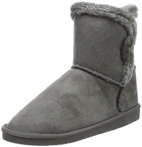 Canadians Damen Boots Schlupfstiefel, Grau (250 DK. Grey), 40