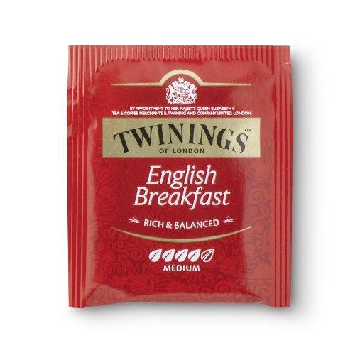 Twinings English Breakfast 400 Beutel, 4 Schachteln mit je 100 Teebeuteln