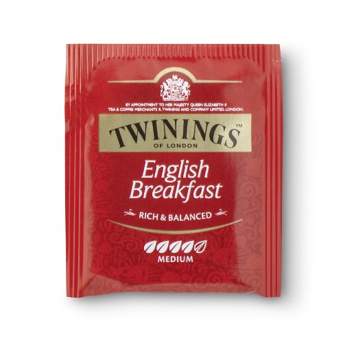 Twinings English Breakfast 400 Beutel, 4 Schachteln mit je 100 Teebeuteln