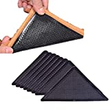 8PCS Eco-friendly and Reusable Rug Grippers,Anti Curling Non-Slip and Removable,Anti Slip Rug Grippers for Tile Floors,Carpets,Floor Mats