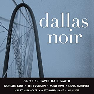 Dallas Noir audiobook cover art