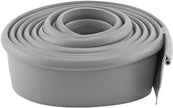 Prime-Line Products GD 12275 Garage Door Bottom Seal, Metal Door, 10-Feet Long, Gray Vinyl