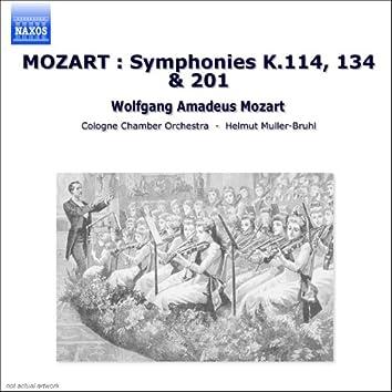 MOZART: Symphonies Nos. 14, 21 and 29