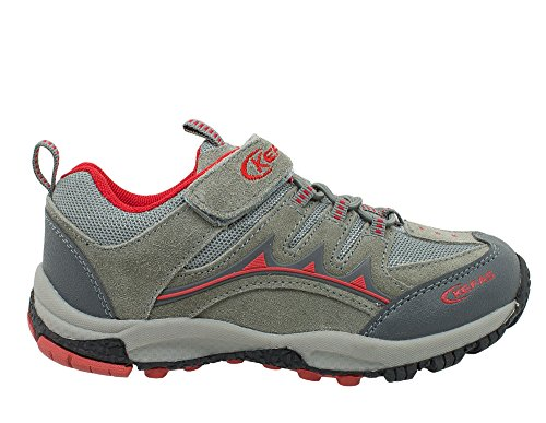 Kefas -Young 3268 - Chaussures Outdoor Junior Rouge 34