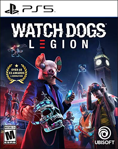 Watch Dogs: Legion PlayStation 5 Standard Edition (Video Game)