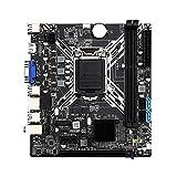 Carte mère H81G SATA2.0 H81G Chipset Support LGA 1150 Core I3 5 I7 Processeur Desktop DDR3 16G Carte mère pour Desktop Motherboard CPU Combo I7 Mises à Niveau Pcie Gaming avec proces