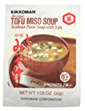 Kikkoman Miso Soup Tofu Instant, 1.05-Ounce Units (Pack of 12)...