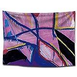 GUOXIN12 Tapiz Colgante de Pared Arte Abstracto Imagen Geométrica Patchwork Bohemia Tapicería de Tela Cabecero Cabecero Hippie Manta de Tiro WEOR05,150x200cm