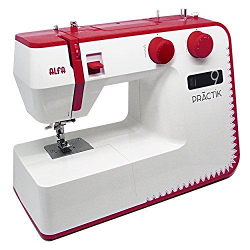 Alfa Practik 9 – La máquina de coser con pantalla electrónica