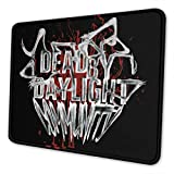 Dead-by-Day-Light Mouse Pad Non-Slip Rubber Base with Stitched Edges Mouse Pads for Computers Laptop Gaming Office Home 10 X 12 Inch