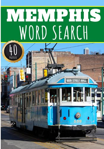 Memphis Word Search: 40 Fun Puzzles With Words Scramble for...