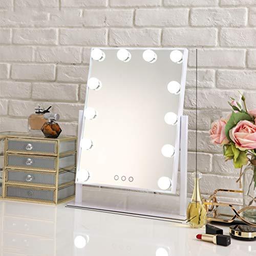 Dormitorio y ba/ño Elegante decoraci/ón Moderna para el hogar HomeZone/® Espejo de Pared Redondo con Roseta facetada de Color Dorado champ/án Sala de Estar