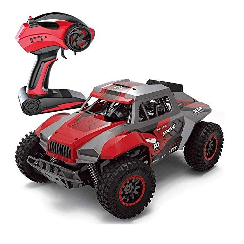 Wghz Remote Control Car for Kids 1:12 RC Cars Off-Road 2.4Ghz Rock Vehicle Crawler Truck Buggy Hobby Car Toy for Kids Xmas/Birthday Gifts for Boys and Girls (Color : Red)