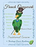 French Handwriting Copywork: Traditional Cursive (French Penmanship Books) (Volume 2) (French Edition)