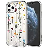 MOSNOVO iPhone 11 Pro Case, Wildflower Floral Flower