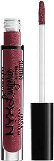 NYX PROFESSIONAL MAKEUP pintalabios líquido brillante Lip Lingerie Glitter Tono 8 Euro Trash Color Cereza