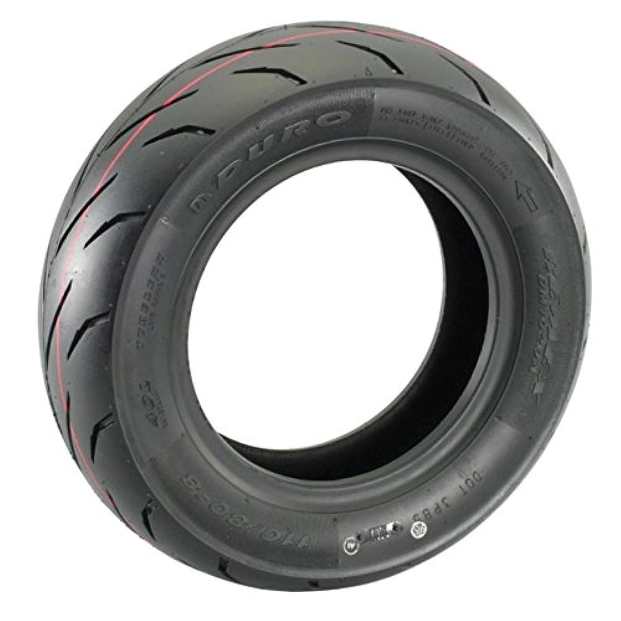 ごちそう硬さヒゲクジラキタコ(KITACO) バイクタイヤ チューブレスタイヤ DURO 8インチ 110/80-8/40L モンキー(MONKEY) ゴリラ等 911-1123008