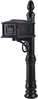 Gibraltar Mailboxes SC000B01 Stratford, Medium, Black