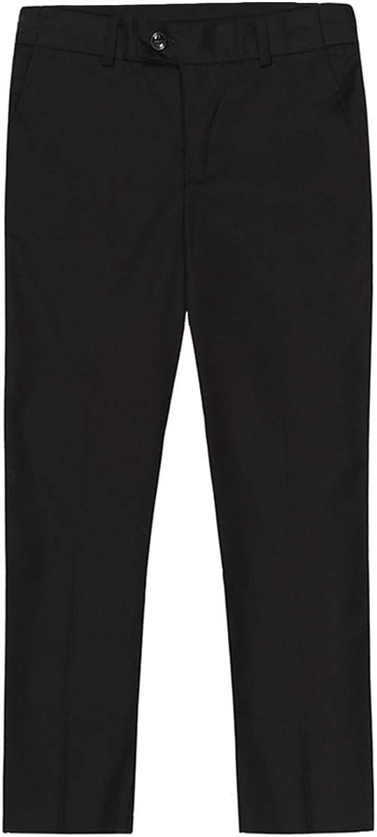 Boyland Boys Tuxedo Suits Floral Jacqurad 3 Pieces Slim Fit Shawl Lapel Tux Jacket Tux Vest Pants Party Wedding White Blue