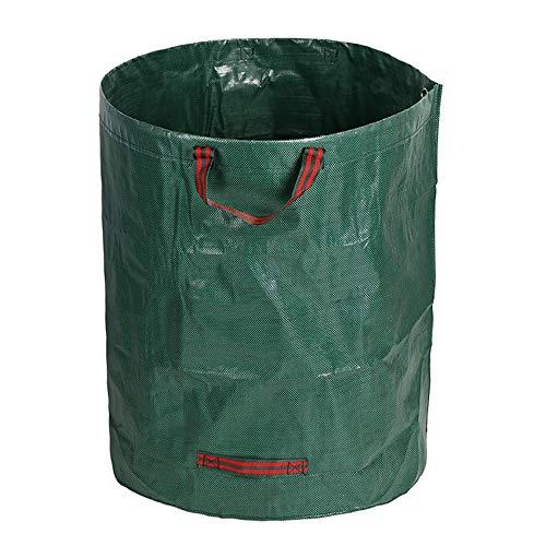 Best Design Plant Bag Organic Waste Storage Basket Garden Yard Compost Fertilizer, Garden Refuse Bin - Kitchen Compost Container, Green Plastic Bins, Large Basket With Lid, Vegetable Storage Bin