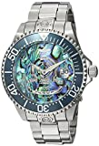 Invicta Men's Pro Diver Automatic-self-Wind Diving Watch with Stainless-Steel Strap, Silver, 22 (Model: 23453)