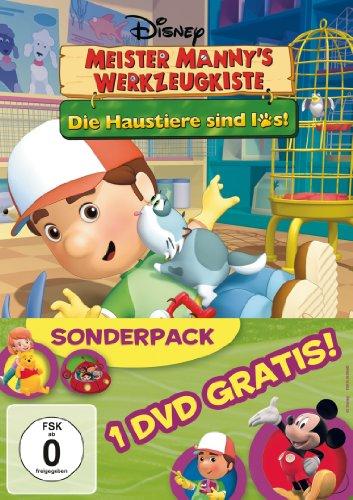 Meister Manny's Werkzeugkiste, Vol. 2 - Die Haustiere sind los! (+ Bonus-DVD)