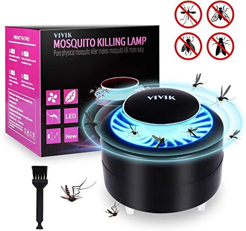 Lámpara Antimosquitos-USB Trampa luz Mosca lámpara Anti Asesino colector para casa Cocina al Aire Libre jardín Patio