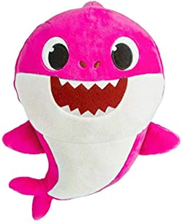 Soft Dolls Baby Cartoon Shark Toys With Music Cute Animal Plush Baby Toy Shark Dolls Singing English Song