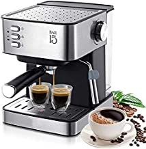 Coffee Machine, Espresso Electric Coffee Machine Coffee Maker Electric-Horn Cappuccino Capuchinator for Kitchen Household-...