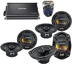Compatible with Acura TSX 2004-2014 Factory Speaker Upgrade Harmony (2) R65 R69 & CXA300.4 Amp (Renewed)