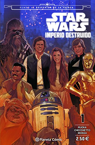 Star Wars Imperio destruido (Shattered Empire) nº 01/04 (Star Wars: Cómics Grapa Marvel)