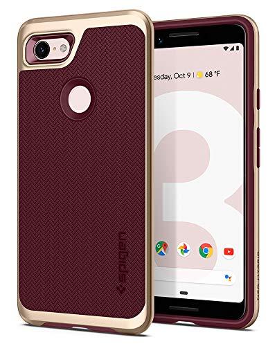 Spigen Neo Hybrid Designed for Google Pixel 3 Case (2018) - Burgundy