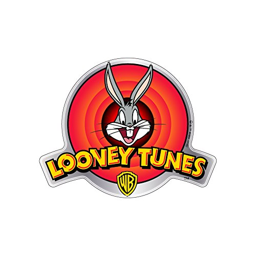 Fan Emblems Looney Tunes Car Decal Domed/Multicolor/Chrome Finish, Automotive Emblem Sticker Logo Easily Applies to Cars, Trucks, Motorcycles, Laptops, Cellphones, Windows, Almost Anything