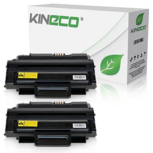 2 Toner kompatibel zu Samsung MLTD-2092L für Samsung SCX-4824FN, ML-2855ND, SCX-4825FN, SCX-4828FN SCX-2855 - MLT-D2092L/ELS - Schwarz je 5.000 Seiten