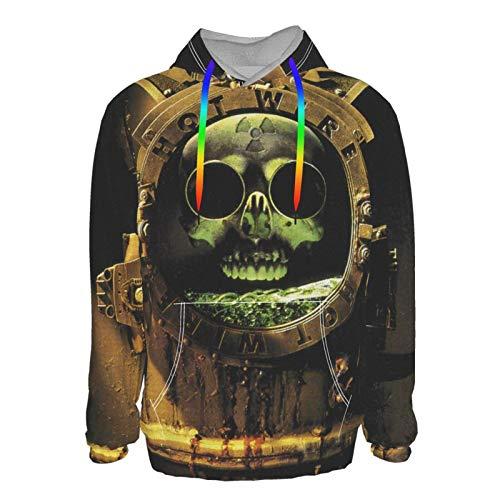 Euochengqus Kix Hot Wire Men's 3D Druck Hoodie Kapuzenpullover Langarm Pullover Sweatshirt XL