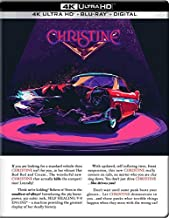Christine (u.s. Exclusive Steelbook 4k Ultra Hd + Blu-ray + Digital Hd)