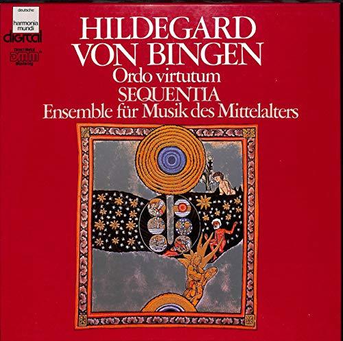 Hildegard von Bingen: Ordo virtutum (Spiel der Kräfte) Sequentia; Ensemble für Musik des Mittelalters - 1C 16519-9942-3 - Vinyl Box