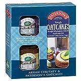 Chutney and Rough - Juego de regalo para tarta de avena, vegana y vegetariana, libre de trigo y aceite de palma