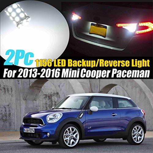 2Pc 1156(BA15S) 27SMD Super White 6000k Backup/Reverse Light Compatible for 2013-2016 Mini Cooper Paceman