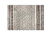Tappeti Amira 4 tappeto moderno chiaro Berberi prodotto in Turchia, tappeto